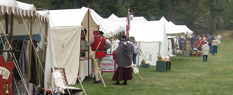 Sutlers of Fort Frederick Market Fair