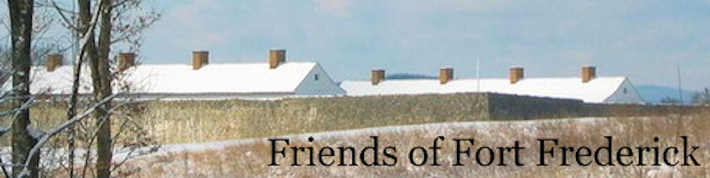 Fort Frederick in Winter